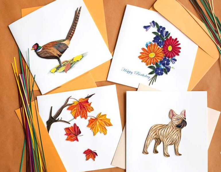 card-quilling-card