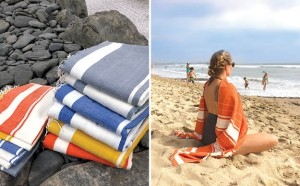 WOVEN PROMISES beach towels